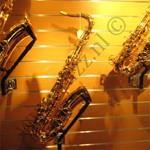 winkelinrichting saxofoons